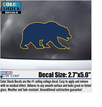 University Of California Berkeley Bear Decal-Shop College Wear