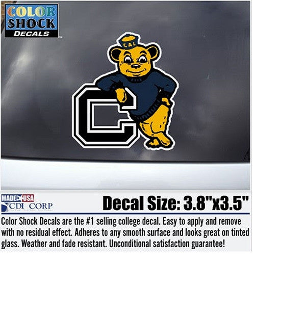 University Of California Berkeley Oski Decal-Shop College Wear