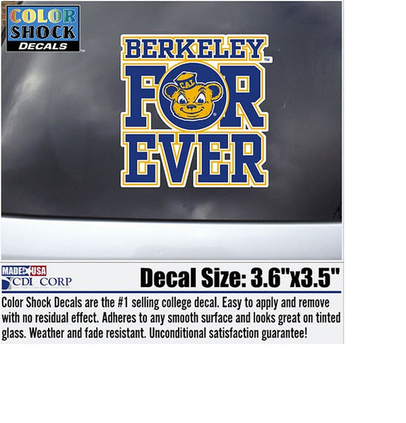 University Of California Berkeley For Ever Decal-Shop College Wear