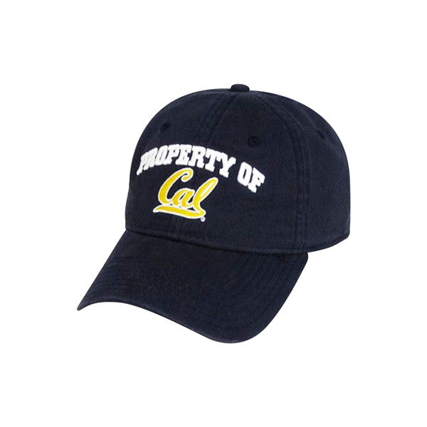 University Of California Berkeley Golden Bears Cal Adjustable Ball Cap - Navy-Shop College Wear