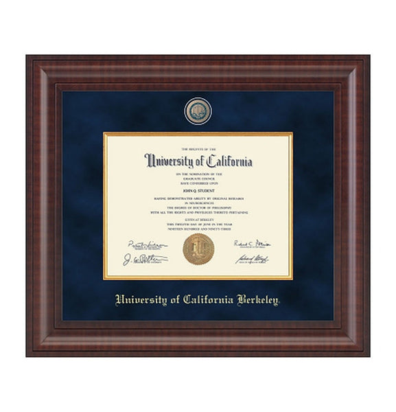 University Of California Berkeley Presidential Masterpiece Diploma Frame-Shop College Wear