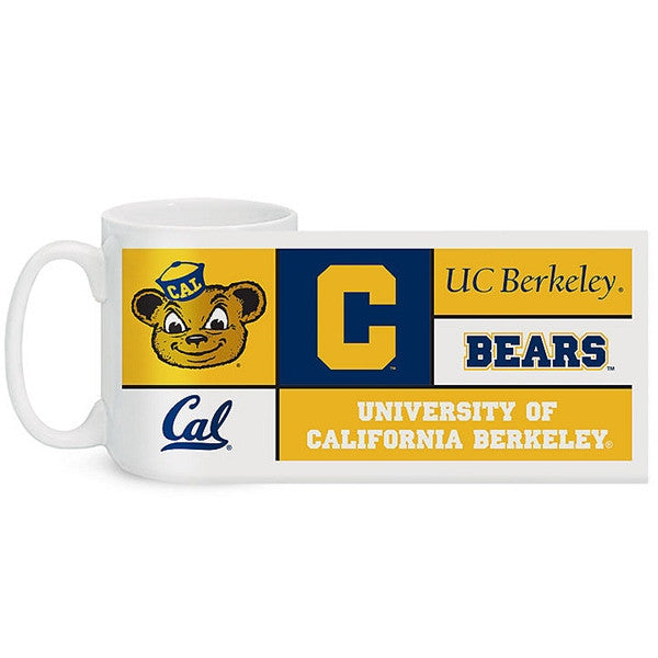 UC Berkeley Cal Retro Coffee Mug El Grande 15 oz- White-Shop College Wear
