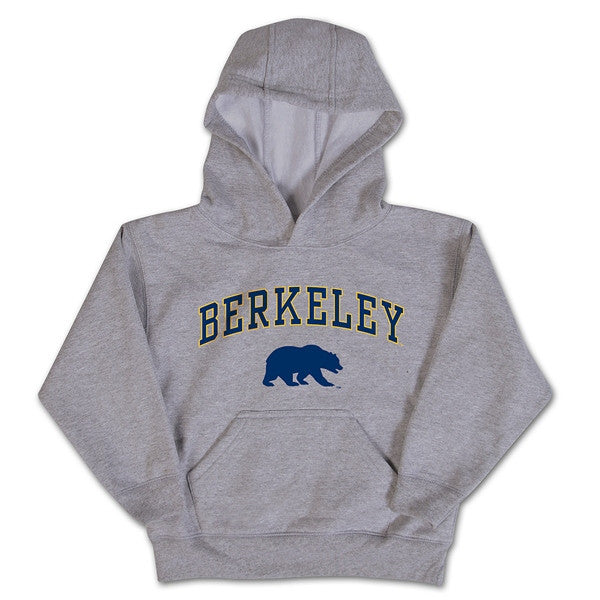 University Of California Berkeley Toddler Pullover Hoodie - Oxford-Grey-Shop College Wear