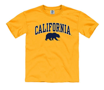 California Golden Bears Youth T- Shirt- Gold