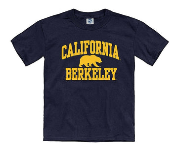 University Of California Berkeley Bold Arch Youth T-Shirt - Navy