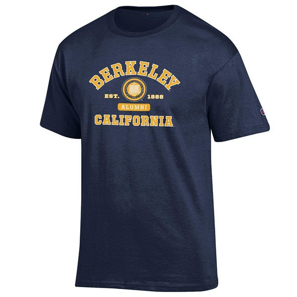 University Of California Berkeley Cal Alumni T- Shirt- Navy-Shop College Wear