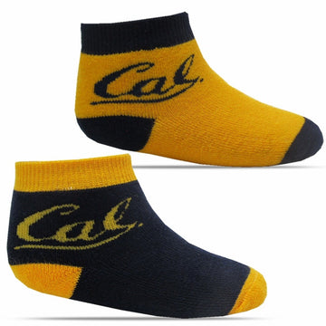 University Of California Berkeley Cal Infant Socks Two Pack - Gold/Navy