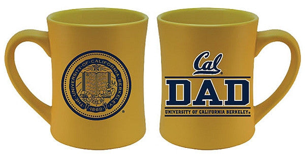 University Of California Berkeley Cal Dad Coffee Mug 16 Oz.- Gold-Shop College Wear