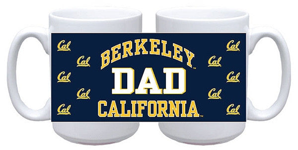 University Of California Berkeley Cal Dad Mug 15 Oz. - Navy-Shop College Wear