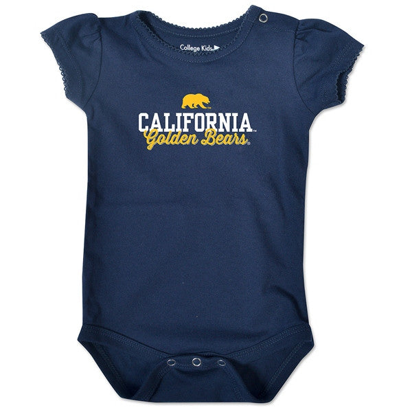 University Of California Berkeley Cal Golden Bears Bodysuite- Navy-Shop College Wear