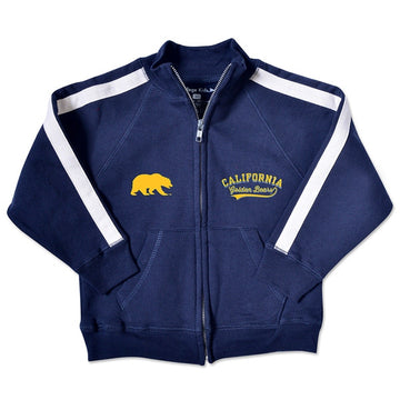 University Of California Berkeley Golden Bears Toddler Track Jacket - Navy