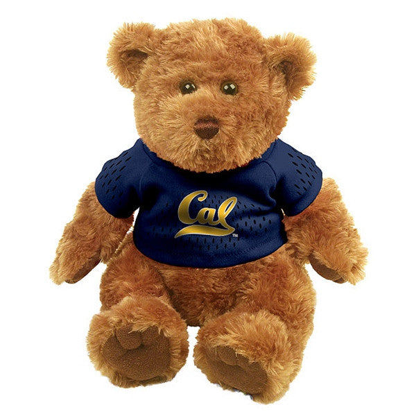 "University Of California Berkeley Cal 10"" ColorMax Bear 978-Tan-Shop College Wear"