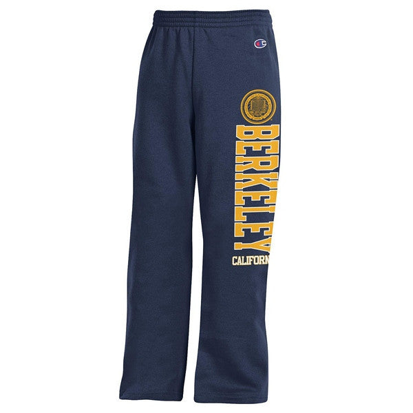 University Of California Berkeley Youth Champion Sweat Pants - Navy-Shop College Wear