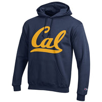 University Of California Berkeley Script Cal Powerblend Champion Men's Sweatshirt- Navy-Shop College Wear