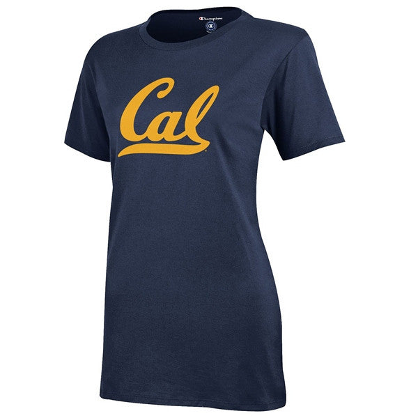 UC Berkeley Cal Champion Campus Crew Women's T-Shirt - Navy-Shop College Wear