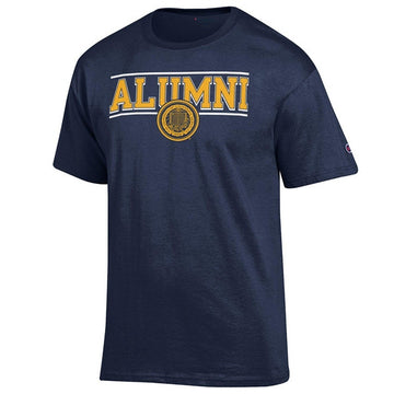 University Of California Berkeley Cal Alumni Champion Men's T-Shirt - Navy