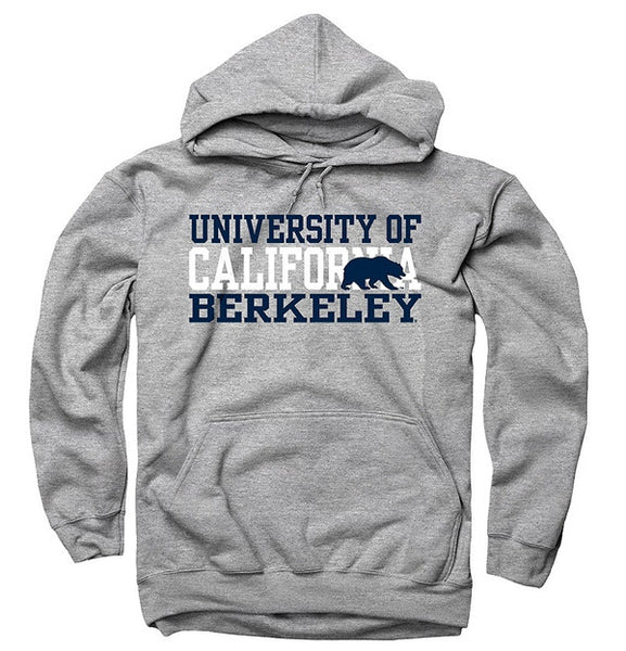 University Of California Berkeley Golden Bears 3 Stacks Sweatshirt- Grey-Shop College Wear