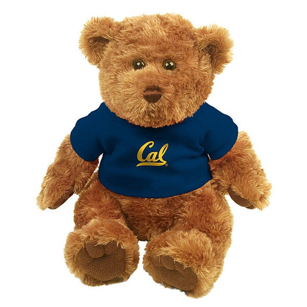 "University Of California Berkeley Cal 12"" Traditional Teddy Bear- Brown-Shop College Wear"