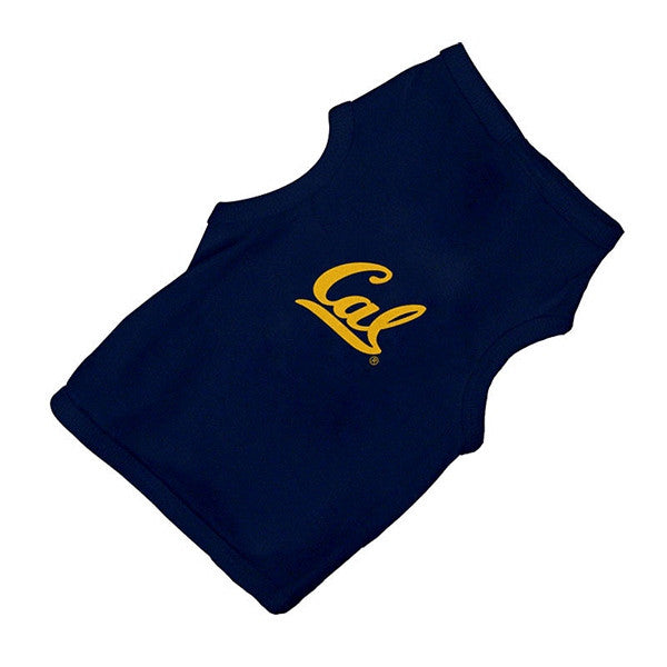 University Of California Berkeley Cal Dog T- Shirt- Navy-Shop College Wear