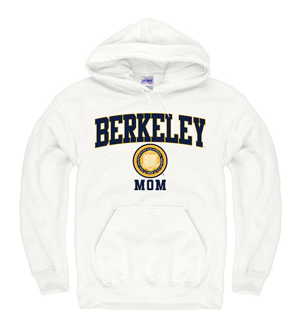 University Of California Berkeley Cal Mom Sweatshirt- White-Shop College Wear
