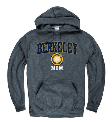 University Of California Berkeley Cal Mom Sweatshirt- Charcoal