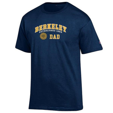 University Of California Berkeley Golden Bears Champion  Cal Dad T-Shirt - Navy