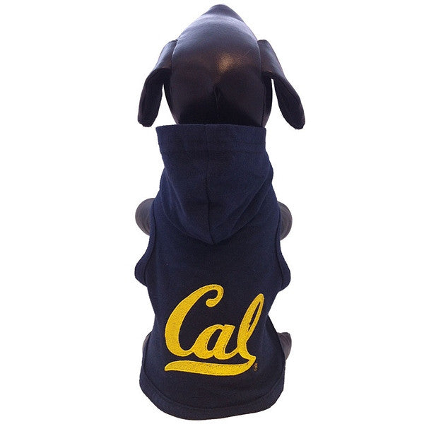 University Of California Berkeley Cal Dog Polar Fleece Sweatshirt- Navy-Shop College Wear
