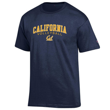 UC Berkeley Champion Cal Volleyball Mens T-Shirt - Navy