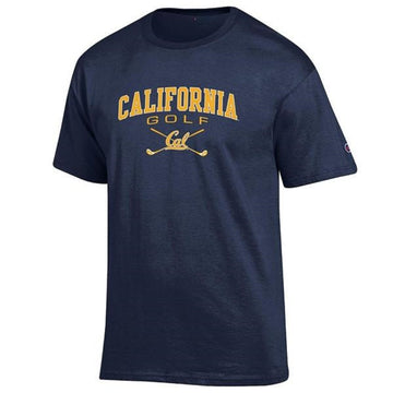 University Of California Berkeley Cal Golf Men's Champion T- Shirt - Navy