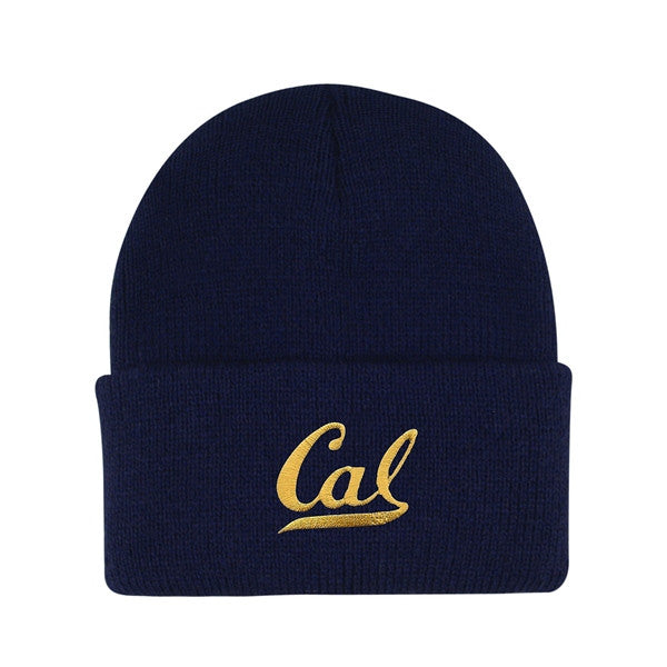University of California Berkeley Infant/ Toddler Cal Embroidered Knit Hat Beanie -Navy-Shop College Wear
