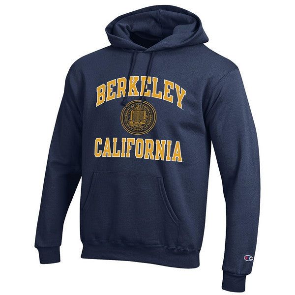 University Of California Berkeley Champion Men's Sweatshirt- Navy-Shop College Wear