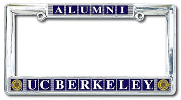 University Of California Berkeley Cal Alumni Classic License Plate Frame