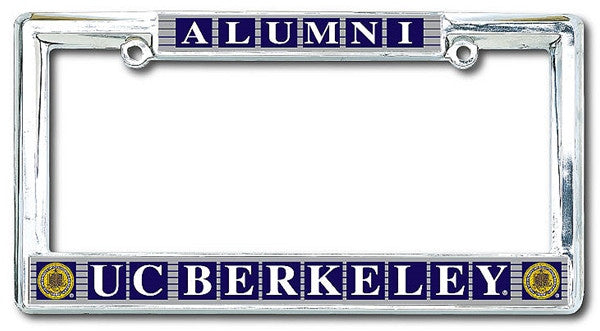 University Of California Berkeley Cal Alumni Classic License Plate Frame-Shop College Wear