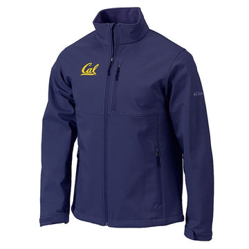 University Of California Berkeley Cal Columbia Ascender Mens Full Zip Jacket- Navy