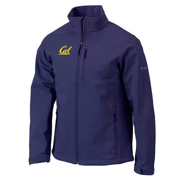 University Of California Berkeley Cal Columbia Ascender Mens Full Zip Jacket- Navy-Shop College Wear