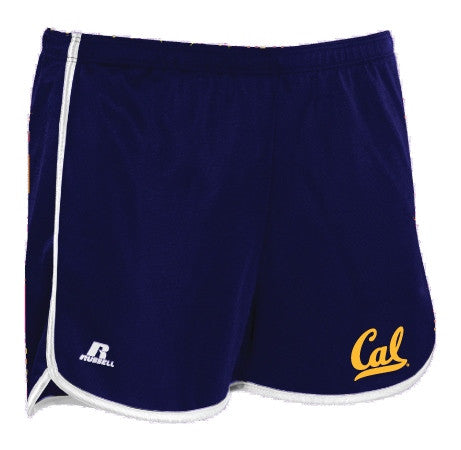 University Of California Berkeley Cal Athletic Womens Short- Navy-Shop College Wear