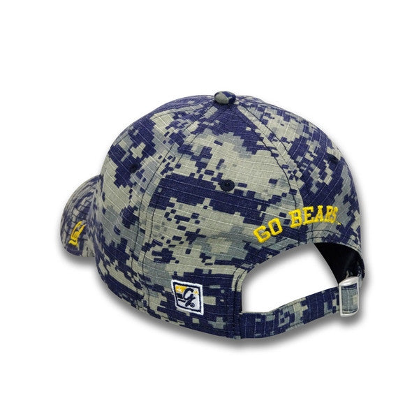 University Of California Berkeley Cal Hat Digital- Navy-Shop College Wear