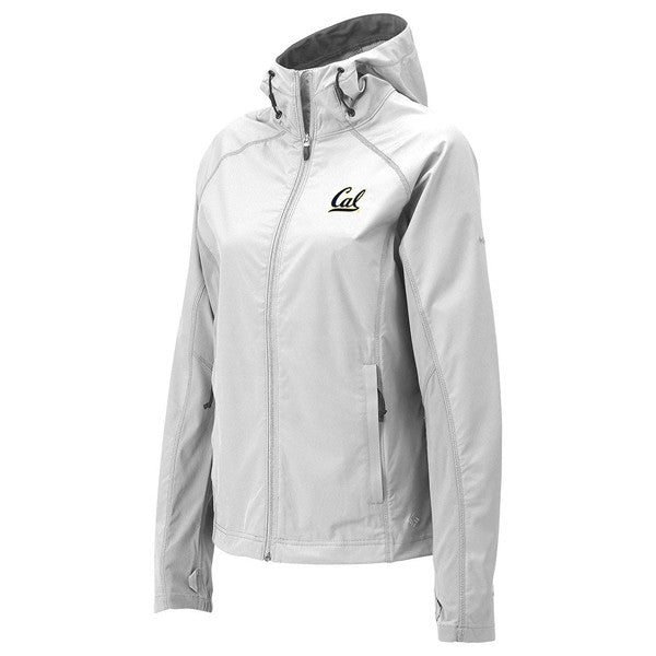 University Of California Berkeley Cal Embroidered Columbia Women's Jacket- White-Shop College Wear