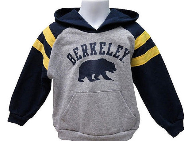 University Of California Berkeley Cal Kids Athletic Hoodie- Grey-Shop College Wear