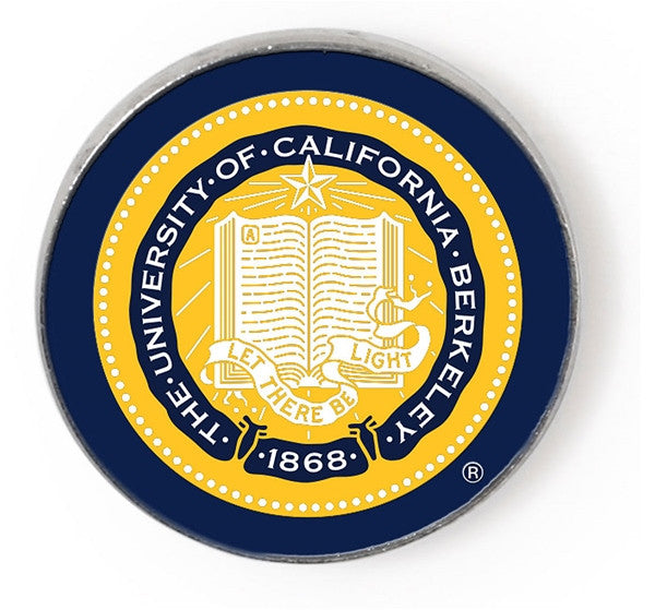 University Of California Berkeley Seal Lapel Pin- Chrome-Shop College Wear
