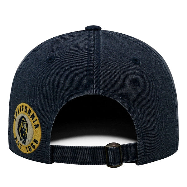 University Of California Berkeley Golden Bears Cal Retro Felt Cap-Navy-Shop College Wear