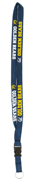 University Of California Berkeley Golden Bears Lanyard Woven - NAVY-Shop College Wear