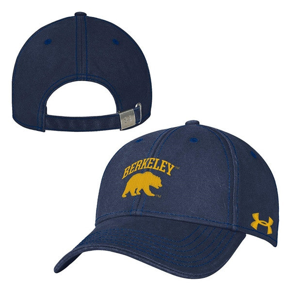 University Of California Berkeley Under Armour High Profile Cap- Navy-Shop College Wear