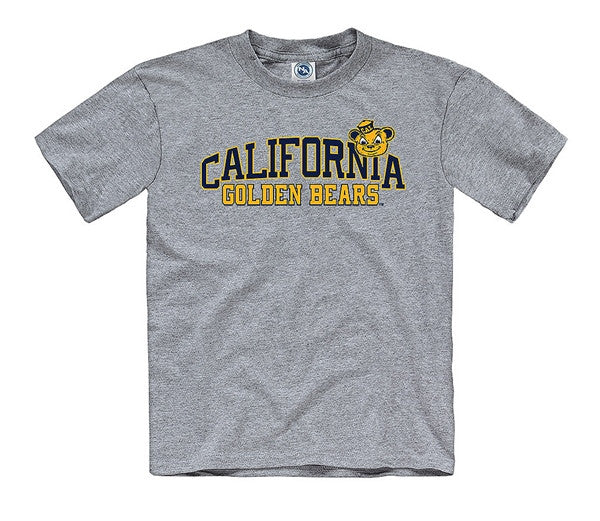 UC Berkeley Cal Bears Youth T- Shirt Oski- Grey-Shop College Wear
