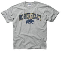 UC Berkeley Arch & Bear Youth T- Shirt-Grey-Shop College Wear