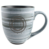 U.C. Berkeley Cal Bears clay ceramic mug 16 0z -Grey-Shop College Wear