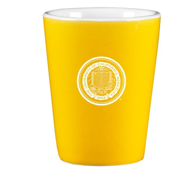 University Of California Berkeley Cal Laser Engraved Shot Glass-Gold-Shop College Wear