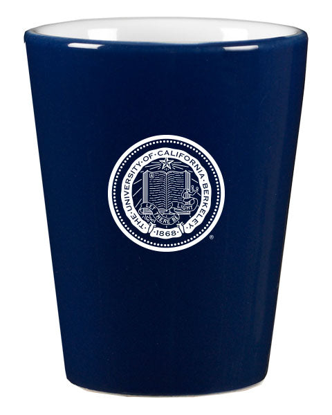 University Of California Berkeley Cal Laser Engraved Shot Glass - Navy-Shop College Wear