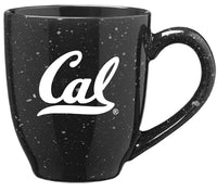 University Of California Berkeley Cal Laser Engraved 16 Oz. Speckled Ceramic Mug-Black-Shop College Wear