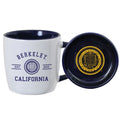 U.C. Berkeley Cal coffee mug and coaster-White
